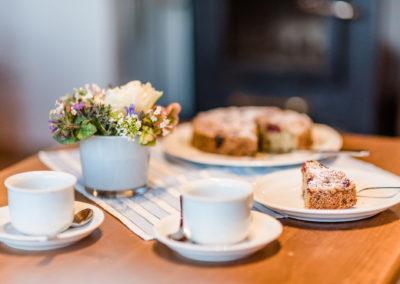 Frischer Kuchen und selbstgebacken- typisch Fehmarn