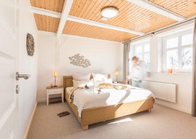 Schlafzimmer Ferienwohnung 2 - von der Sonne wachgeküsst