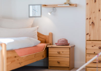 Kleines Schlafzimmer Ferienwohnung 2