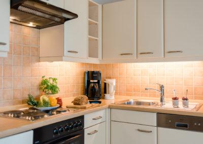 Küchenbereich Ferienwohnung 3